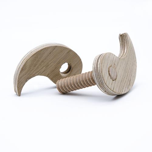 DIY Ying & Yang-Schrauben & Muttern Set